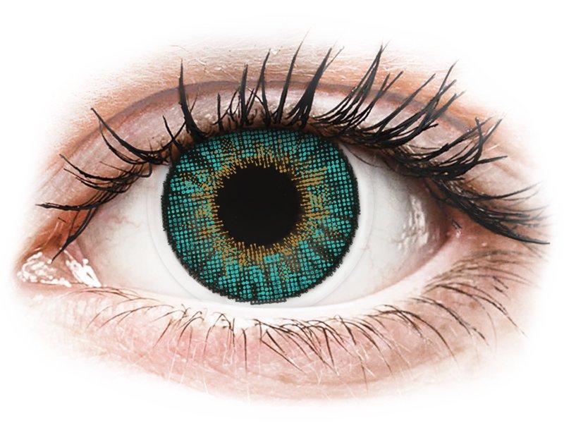 Image of Air Optix Colors - med styrke (2 linser) Turquoise