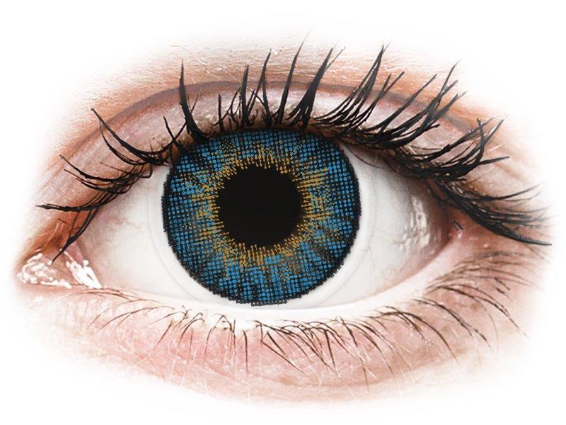 Image of Air Optix Colors - med styrke (2 linser) True Sapphire