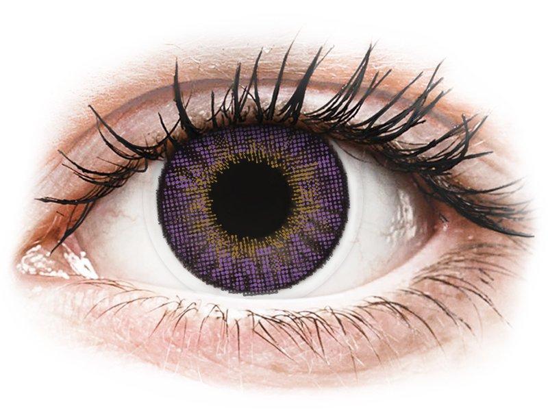 Image of Air Optix Colors - med styrke (2 linser) Amethyst