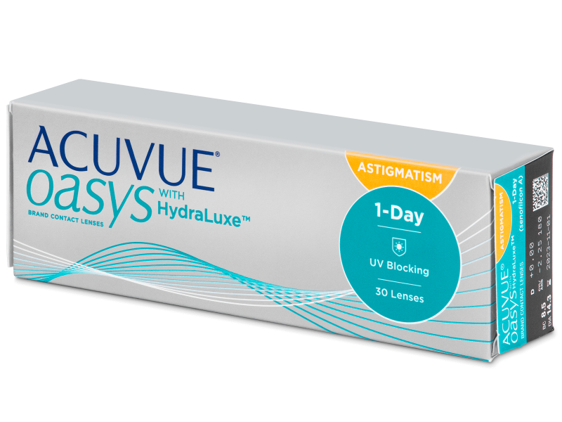 Image of   Acuvue Oasys 1-Day with HydraLuxe for Astigmatism