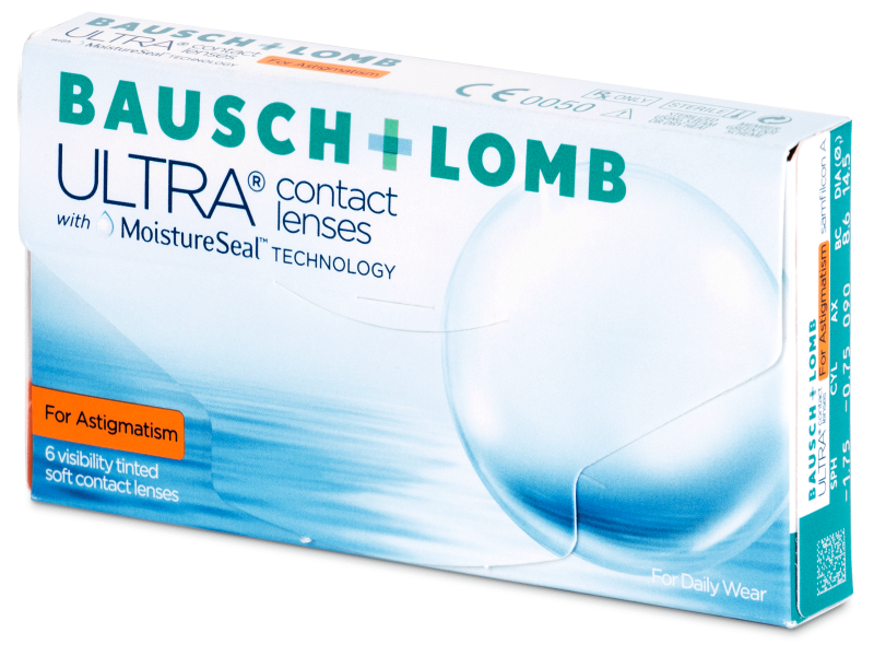 Image of   Bausch + Lomb ULTRA for Astigmatism (6 linser)