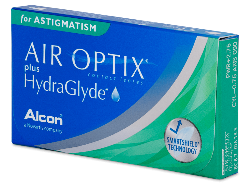 Image of   Air Optix plus HydraGlyde for Astigmatism (3 linser)