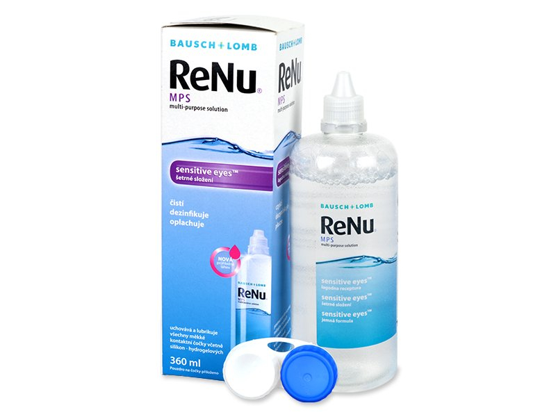 Image of   ReNu MPS Sensitive Eyes solution 360 ml