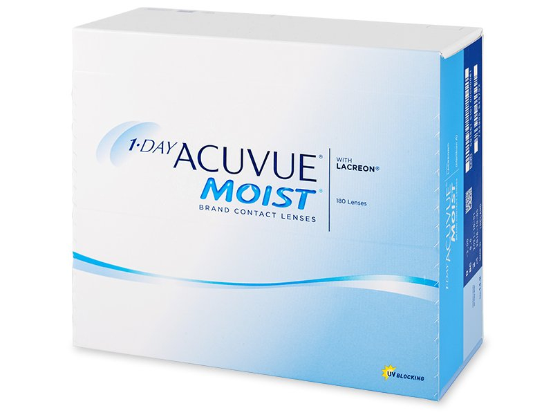 Image of 1 Day Acuvue Moist (180 linser)