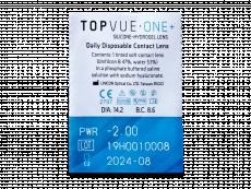 TopVue One+ (30 linser)