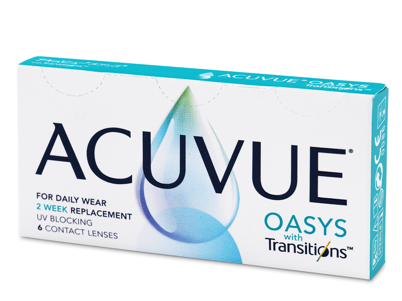 Image of   Acuvue Oasys with Transitions (6 linser)