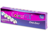 alensa.dk - Kontaktlinser - ColourVue One Day TruBlends Rainbow - Uden styrke