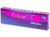 alensa.dk - Kontaktlinser - ColourVue One Day TruBlends Rainbow - Med styrke