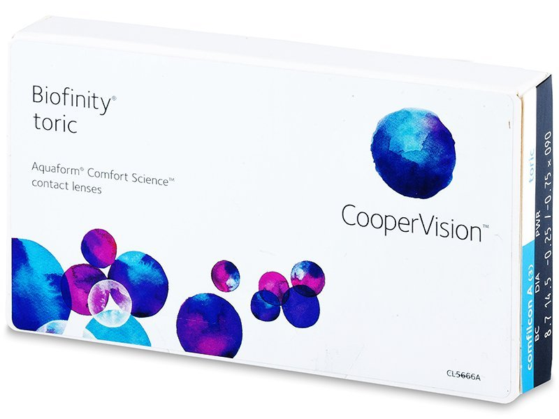 Image of   Biofinity Toric (3 linser)