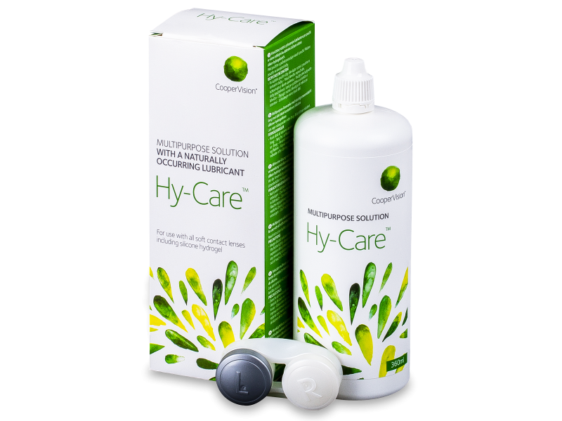 Image of   Hy-Care linsevæske 360 ml