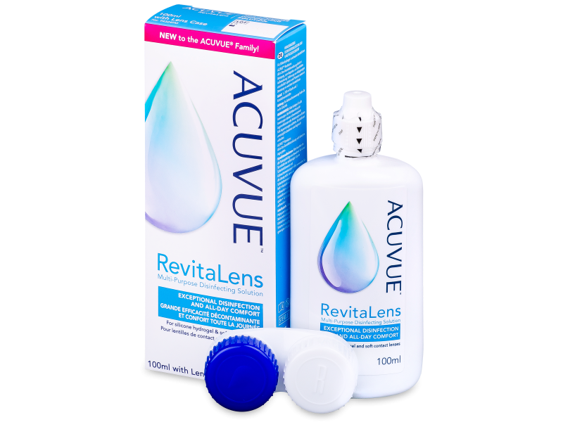 Image of   Acuvue RevitaLens linsevæske 100 ml