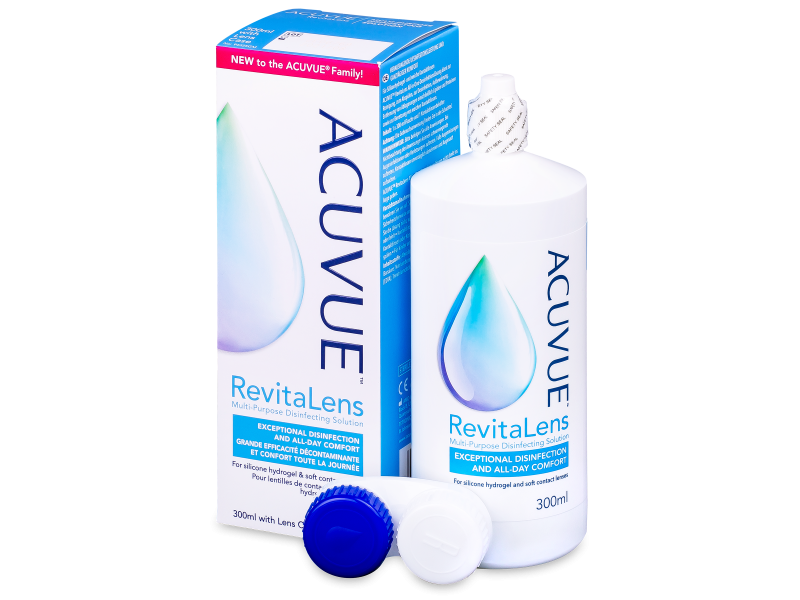 Image of   Acuvue RevitaLens linsevæske 300 ml
