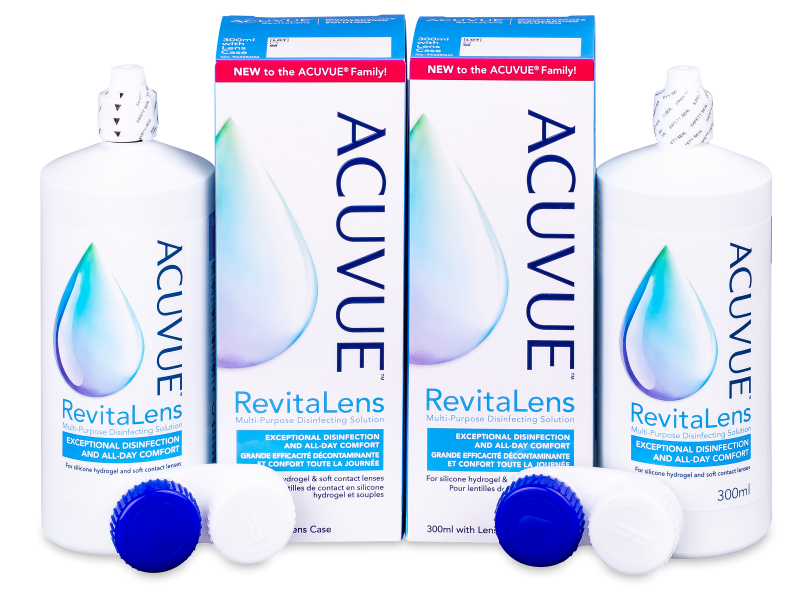 Image of   Acuvue RevitaLens linsevæske 2x 300 ml