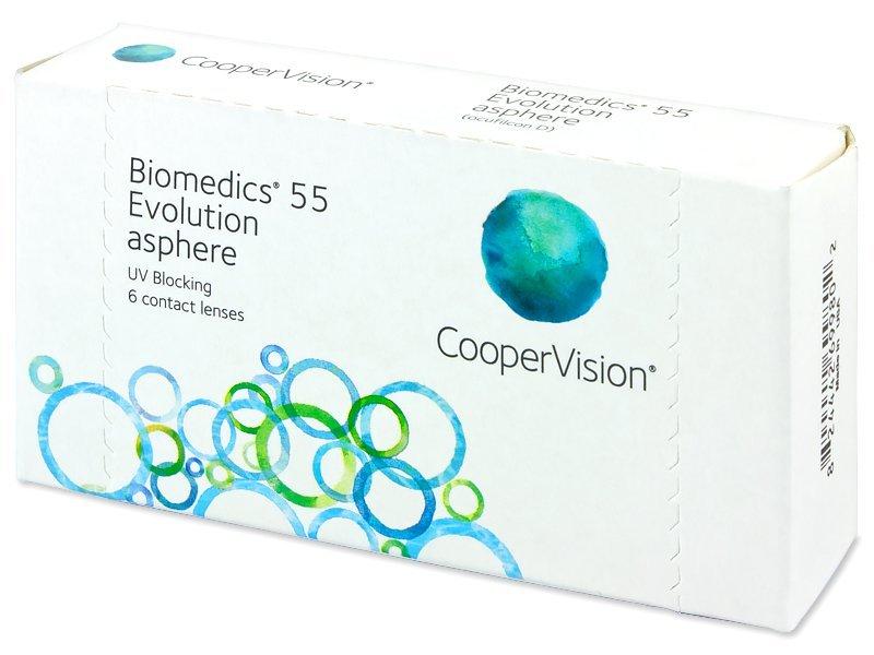 Image of   Biomedics 55 Evolution (6 linser)