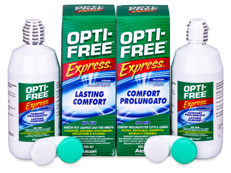 Image of   OPTI-FREE Express Linsevæske 2 x 355 ml