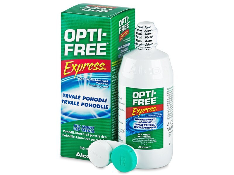 Image of   OPTI-FREE Express Linsevæske 355 ml