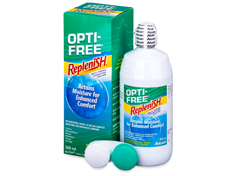 Image of   OPTI-FREE RepleniSH Linsevæske 300 ml