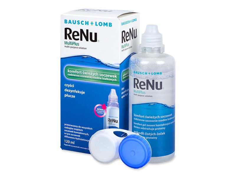 Image of   ReNu MultiPlus Solution 120 ml
