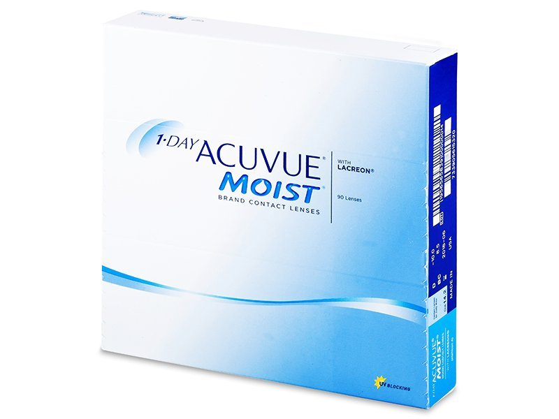 Image of 1 Day Acuvue Moist (90 linser)