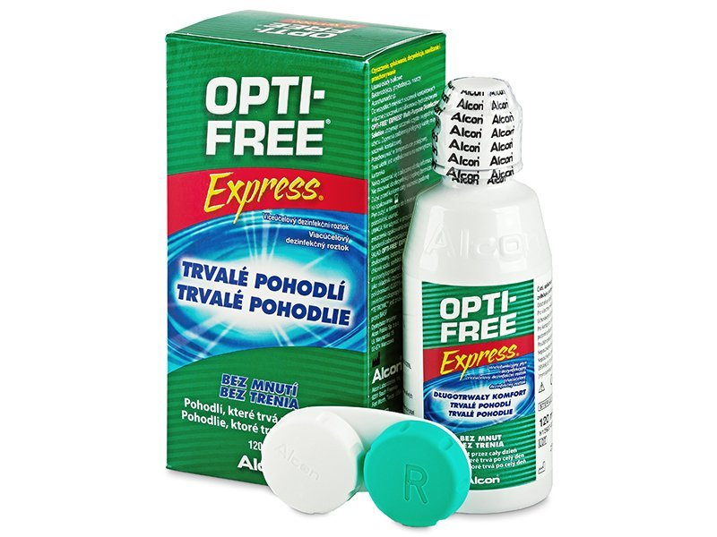 Image of   OPTI-FREE Express Linsevæske 120 ml