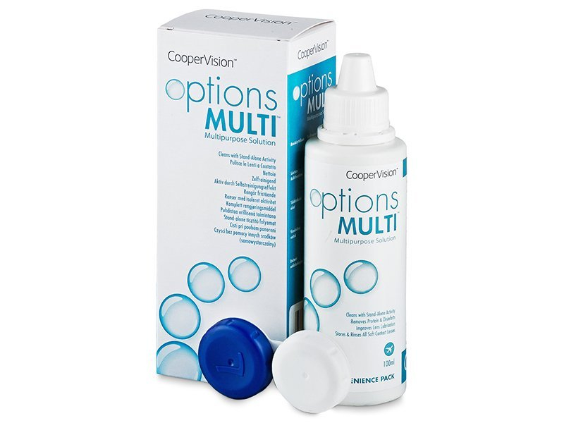 Image of   Options Multi Linsevæske 100 ml