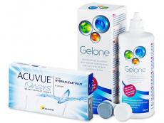 Acuvue Oasys (6linser) +GeloneLinsevæske 360ml