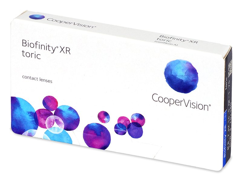 Image of   Biofinity XR Toric (3 linser)