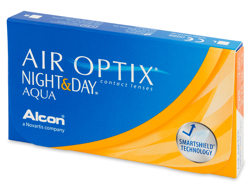 Image of   Air Optix Night and Day Aqua (3 linser)